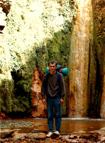 Censando Arruís (Ammotragus lervia) en La Palma (Barranco del Limonero, 1986)