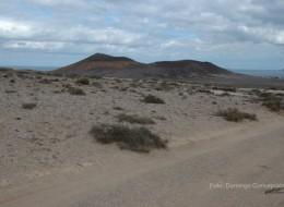 Camino entre Soo y Famara