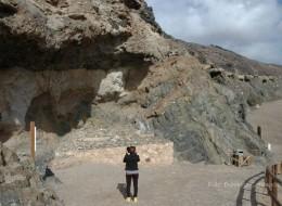 Complejo basal en Ajui (Fuerteventura)
